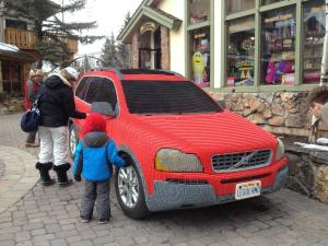 red Lego car
