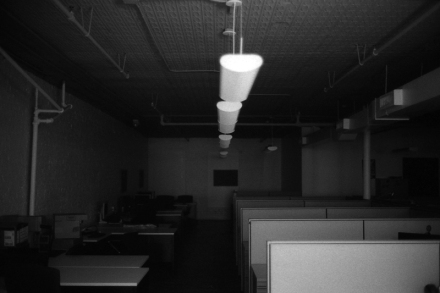 dark office