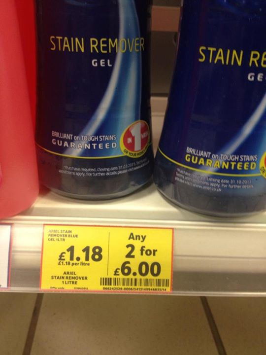 Tesco offer fail