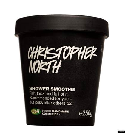 Lush Christopher North Shower Smoothie