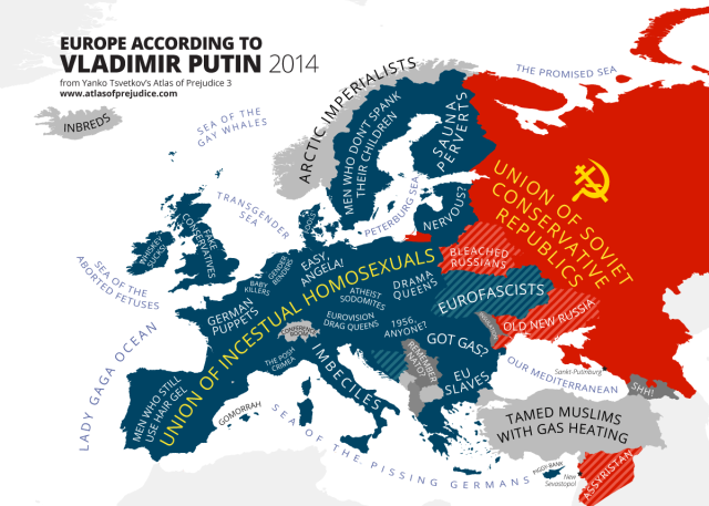 Europe according to Putin