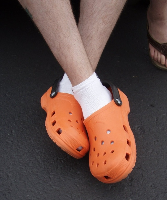 Crocs and Socks